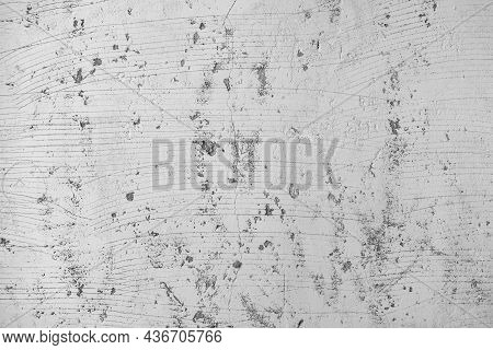 White Cement Stone Concrete Plaster Stucco Wall Painted. The Cement Wall Background Abstract Grey Co