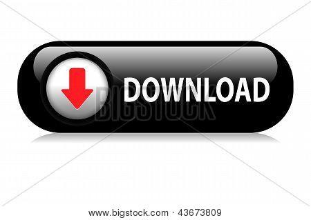 Download web button black