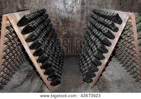 Bottles In Stack