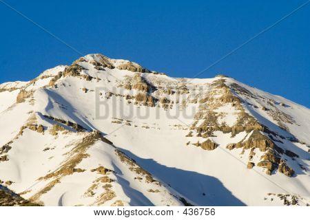 Mount Timpanogos Peak Closeup