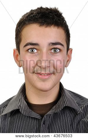 Portrait Of Teenager Boy