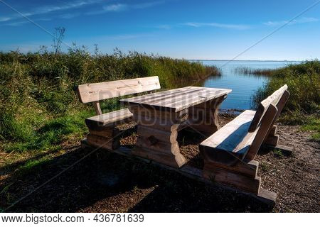 At The Bodden On Fischland In Germany