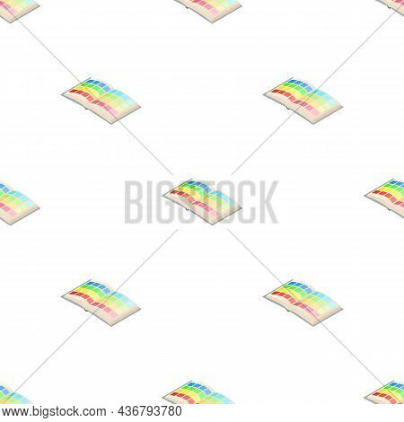 Directory Palette Color Pattern Seamless Background Texture Repeat Wallpaper Geometric Vector