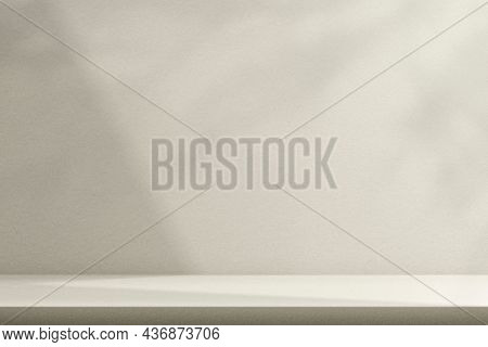 Simple product backdrop with shadow