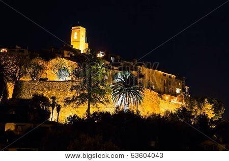 Saint Paul De Vence By Night, French Riviera
