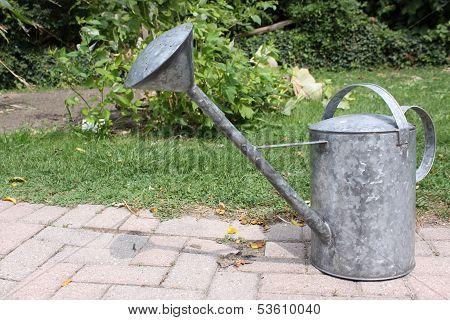 Metallic water jug