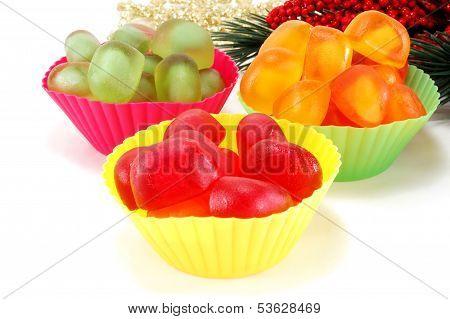 Multi Colored Marmalade Candy