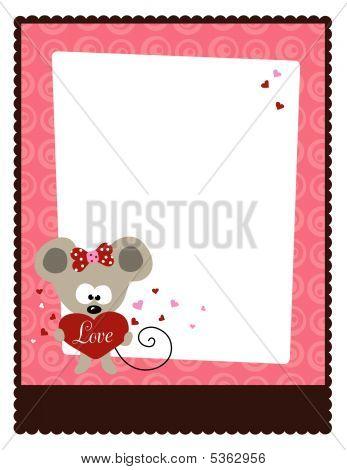 8.5x11 Valentine's Day Flyer Template