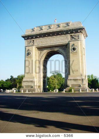 Romanian Triumphal Arch