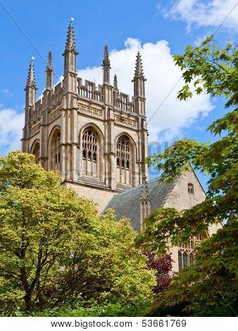 Merton College chapel,  Oxford University, England