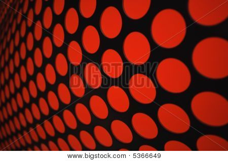 Abstract Red Light Pattern