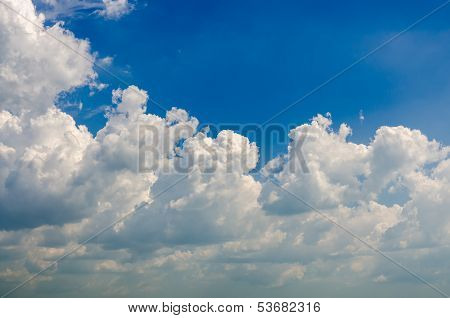 Cloud And Bluesky