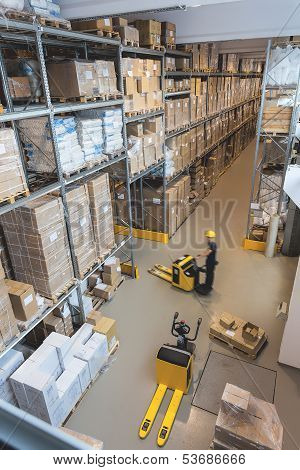 Work In A Warehouse