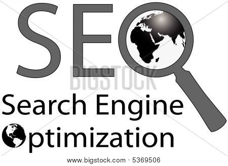 World Wide Magnifying Glass Seo Search Engine