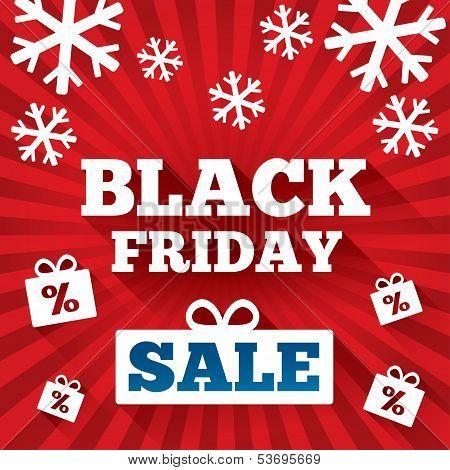 Black Friday Sale background. Christmas background