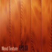 Realistic wood texture background. Vector. Can be used for web design and  workflow layout poster