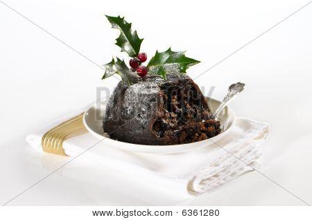 Elegant Christmas Pudding