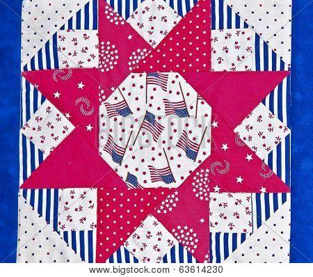 Americana Quilt Block Design