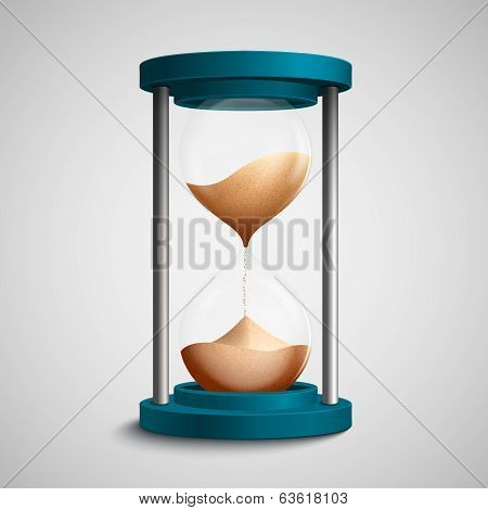 Colored hourglass concept