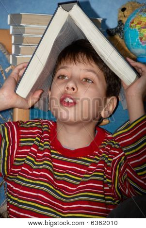Upset Child With Learning Difficulty