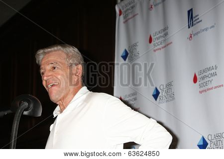 LOS ANGELES - APR 14:  Tom Dreesen at the Jack Wagner Anuual Golf Tournament benefitting LLS at Lakeside Golf Course on April 14, 2014 in Burbank, CA