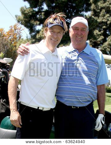 LOS ANGELES - APR 15:  Jack Wagner, Dennis Wagner at the NBC's