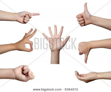 Hand Gesture Body Language