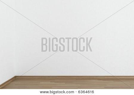 Blank White Wall