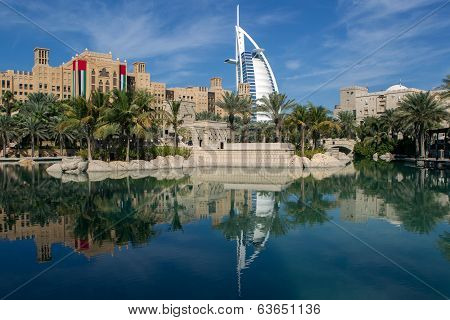 Landscape of Dubai