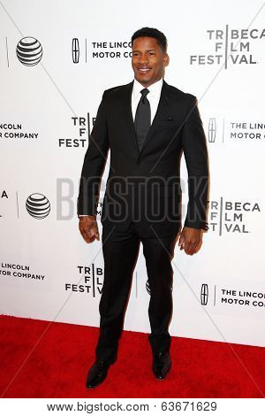 NEW YORK-APR 20: Actor Nate Parker attends the