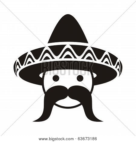 Man With Sombrero