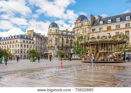 At The Place Du Martroi.