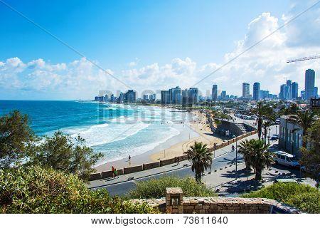 Coast Beach With Waves