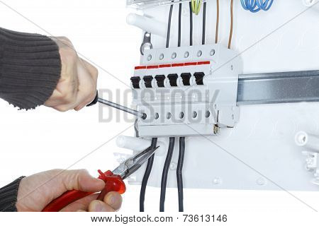 Worker And Distribution Board