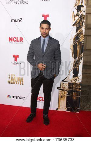 LOS ANGELES - OCT 10:  Wilmer Valderrama at the 2014 NCLR ALMA Awards Arrivals at Civic Auditorium on October 10, 2014 in Pasadena, CA