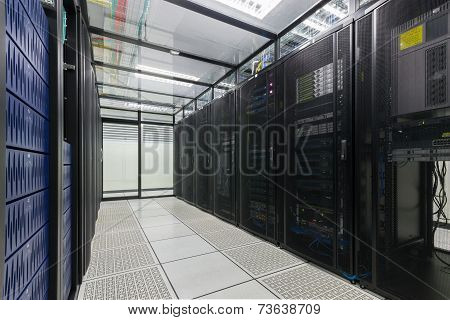 Data Center and Server room.