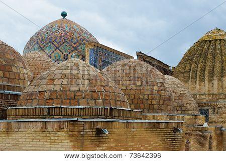 Shah-i-zinda Ensemble In Samarkand, Uzbekistan.