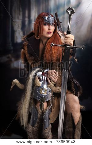 Viking shieldmaiden