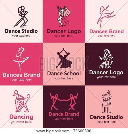 Dance Icons Vector Set