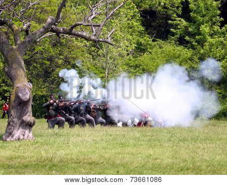 Stoney Creek Battlefield Combat 2009