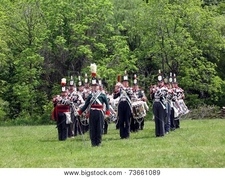 Stoney Creek Battlefield Band And Drum 2009