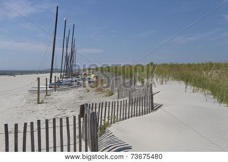 Catamarans By The Sea