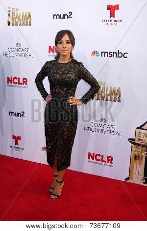 LOS ANGELES - OCT 10:  Lilliana Vazquez at the ALMA Awards Arrivals 2014 at Civic Auditorium on October 10, 2014 in Pasadena, CA