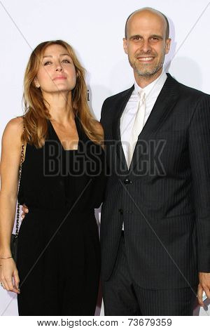 LOS ANGELES - OCT 11:  Sasha Alexander, Edoardo Ponti at the Ferrari Celebrates 60 Years In America  at Wallis Annenberg Center for Performing Arts on October 11, 2014 in Beverly Hills, CA