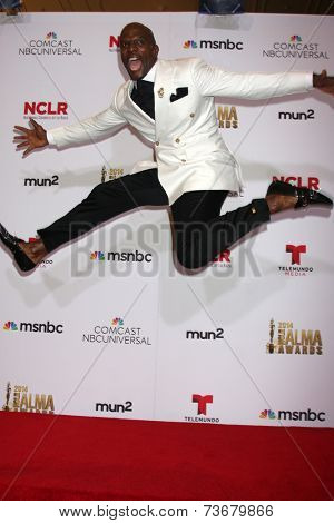 LOS ANGELES - OCT 10:  Terry Crews at the 2014 NCLR ALMA Awards Press Room at Civic Auditorium on October 10, 2014 in Pasadena, CA
