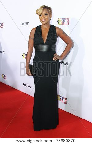 LOS ANGELES - OCT 11:  Mary J. Blige at the Ferrari Celebrates 60 Years In America  at Wallis Annenberg Center for Performing Arts on October 11, 2014 in Beverly Hills, CA