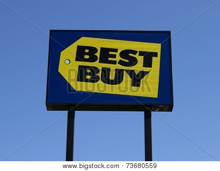 Best Buy Retail Sign