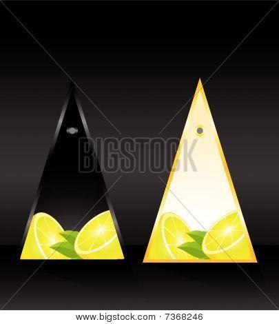tarjeta con limón