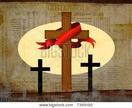 Christian Cross Easter