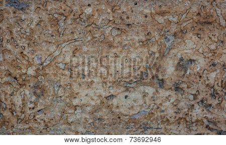 Background Of Brown Stone